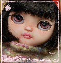 1/6 OOAK Blythe Posable Art Doll Custom Icy Doll Cafè ***by MiMeDollz***