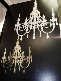 Chandelier stencil large modern stencils for easy wall decor chandelier stencil large modern stencils for easy wall decor chandelier stencil pinterest cutting edge stencils stenciling and chandeliers aloadofball Image collections