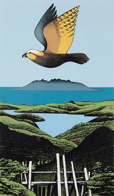 Buy online, view images and see past prices for DON BINNEY (New Zealand 1940 - Kaiaraka Kaku, Great Barrier. Invaluable is the world's largest marketplace for art, antiques, and collectibles. Funny Instagram Memes, New Zealand Art, Kiwiana, Painter Artist, Silk Screen Printing, Art Auction, Bird Art, Landscape Paintings, Landscapes