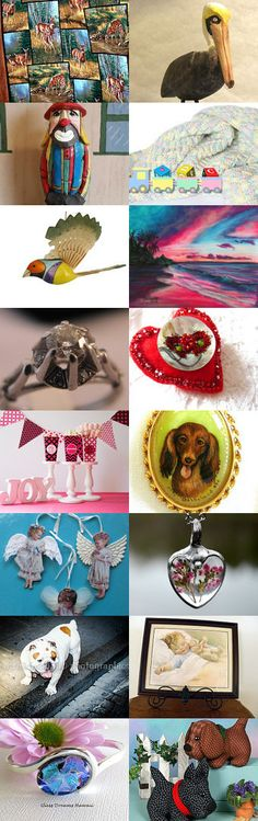 Team Spirit with Happy Stuff  !! by robin hawthorne on Etsy--Pinned+with+TreasuryPin.com
