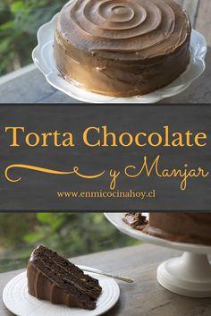 La torta de chocolate y manjar es un clásico en Chile, sencilla y deliciosa, perfecta para preparar y disfrutar en casa.