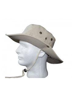 857008ff6e2 Outdoor Wide Brim Boonie Hat Mens Safari Chin Cord Hats Fishing Sun Bucket  Cap - CA12NFF2VRH