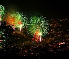 New Years Eve fireworks - Madeira