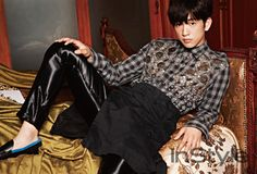 JR - InStyle Magazine August Issue '15