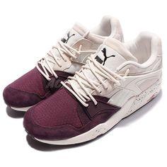 e4ba65d39  Puma Trinomic Blaze Winter Tech Trainers White Purple Men Running Shoe buy  it now Zapatos