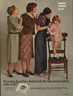 look for the union label...