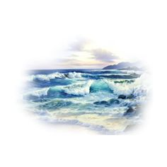 June Series Oceans 2 2.png ❤ liked on Polyvore featuring backgrounds, ocean, water, filler, landscape and effect