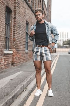 137 trending casual summer outfits for men – page 1 Summer Outfits Men, Stylish Mens Outfits, Casual Outfits, Fashion Outfits, Mens Rave Outfits, Beach Outfits, Fashion Shoes, Gay Outfit, Style Casual