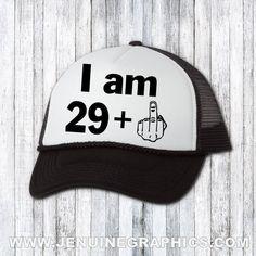 af8ca01f Funny hat - trucker hat - custom hat - 30th birthday gift - birthday gift  for him - funny hat for her - birthday hat - 30th birthday gift