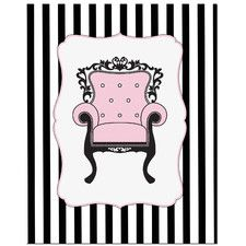 Elegant Chair Art Print