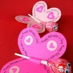 valentine's day butterflies
