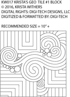 Digital Quilting & Crafting Designs