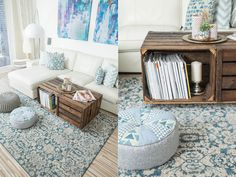 Das Wohnzimmer-Update von mamigurumi.de mit dem benuta Teppich Alaya