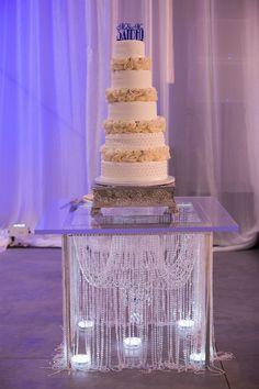 Sikh Wedding, Wedding Book, Wedding Table, Wedding Ceremony, Wedding Cakes, Wedding Reception Design, Wedding Designs, Elegant Wedding, Cake Table Decorations
