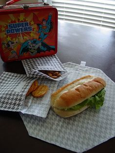 reusable/washable lunch baggies and wraps using iron-on vinyl
