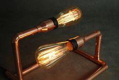 SET Copper Lamp