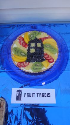 Fruit Tardis!!!  Doctor Who food
