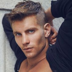 #ShavedSides are staying strong for 2015. Read more about how to style them on menshairstyletrends