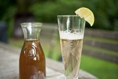 """Homemade Elderflower Syrup"" — The Official Site of Chef Georgia Pellegrini 
