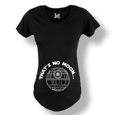 991f991af9b4c That's No Moon Maternity Tee – Kidteez Maternity Fashion, Maternity Tees,  Maternity Outfits,