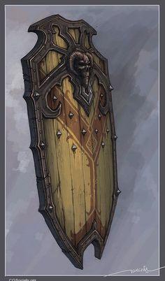 Protection in battle (skeleton shield)