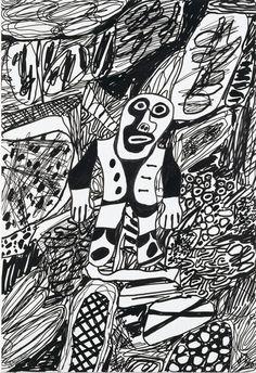 Jean Dubuffet. Pinturas y dibujos   Galeria Marc Domenech
