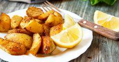 Így készül a görög sült krumpli - Citromos szószban sül puhára - Receptek   Sóbors Gourmet Recipes, New Recipes, Cooking Recipes, Favorite Recipes, Healthy Recipes, Cooking Ideas, Recipies, Roasted Potato Wedges, Red Potato Recipes