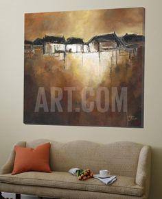 Restful Scene III Loft Art by Jettie Roseboom at Art.co.uk