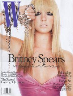 W August 2003 - Britney Spears