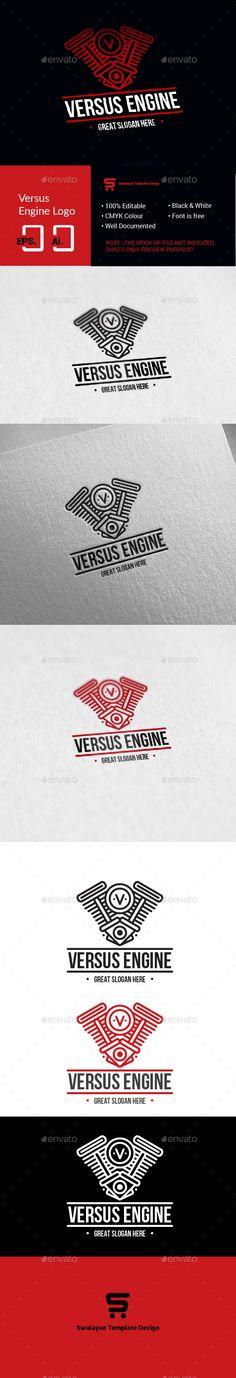 Versus Engine Logo - Symbols Logo Templates