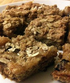 Here's my healthy version of some delicious apple oat whole wheat bars. The apple bars taste incredible: we had them for breakfast!