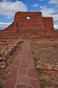 Mission Church | Pecos National Historical Park | New Mexico