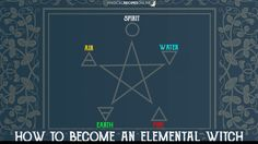 How to become an Elemental Witch and draw power from Earth, Air, Fire and Water