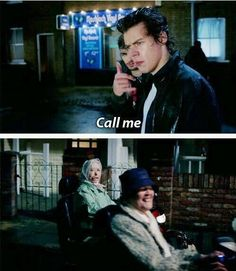 I DIED AT THIS PART <<< HOW DOES AN OLD LADY HAVE A BETTER CHANCE OF MEETING THEM THAN I DO? HOW?