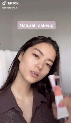 Cute Makeup Looks, Makeup Looks Tutorial, Natural Makeup Looks, Pretty Makeup, Beauty Makeup, Hair Makeup, Natural Everyday Makeup, Glossy Makeup, Makeup Makeover