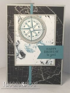 Pals Paper Arts PPA290, Stampin' Up!, Nicole Spicer, Lost Lagoon, Going Places DSP, Going Global