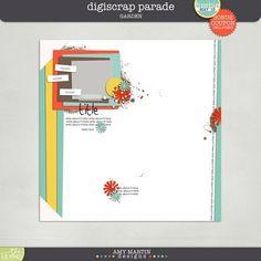 Quality DigiScrap Freebies: Template freebie from Amy Martin Designs