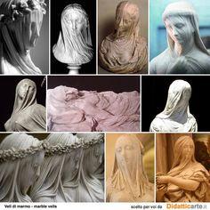 shrouded sculptures