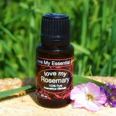 """""""Love My Rosemary"""" 100% Pure Essential Oil"""