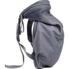 Cote&Ciel Nile Alias Cowhide Leather Backpack | Graphite Grey