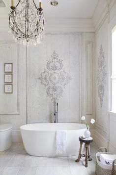 modern chic tara shaw bathroom tub
