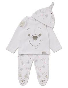 3 Piece Winnie the Pooh Baby Set | | George at ASDA