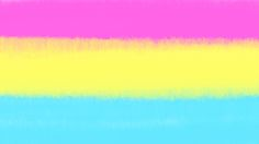 Experimenting with a new Art Program!!! Made some flags!! Pansexual