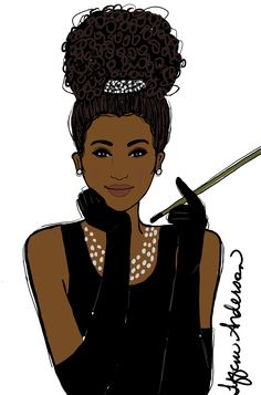 Breakfast at Tiffany's (Naturalista Style)