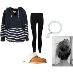 """""""lazy day outfit"""" by toffe100 on Polyvore by faith"""