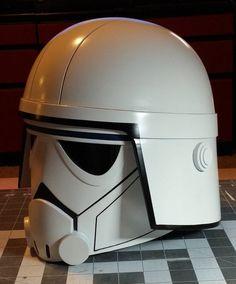 Father Creates Incredible 3D Printed Star Wars Rebels AT-DP Helmet for Son http://3dprint.com/39454/star-wars-revels-at-dp-helmet/