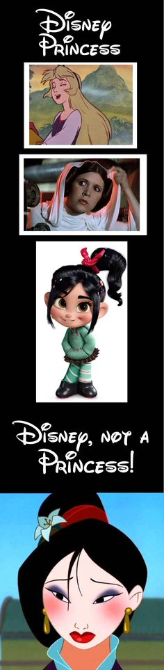 Mulan, not born in a royal family and does not marry a prince, she ends up with a general.