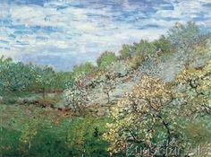 Claude Monet - Bäume in Blüte