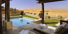 Work for the Splendia Blog: Qasr Al Sarab Desert Resort - Abu Dhabi, United Arab Emirates