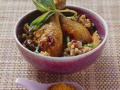 Hühnerschlegel mit Datteln, Mango und Curry ist ein Rezept mit frischen Zutaten aus der Kategorie Hähnchen. Probieren Sie dieses und weitere Rezepte von EAT SMARTER!